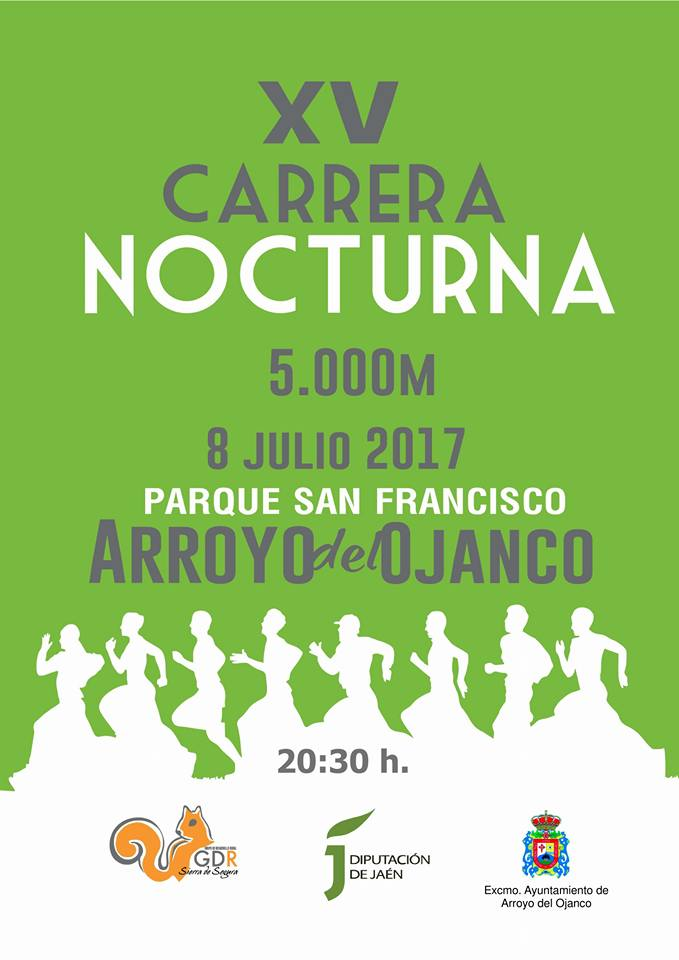 Cartel Carrera popular 2017